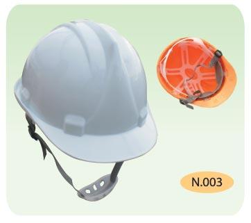 nón trắng cho công nhân xây dựng khóa cài