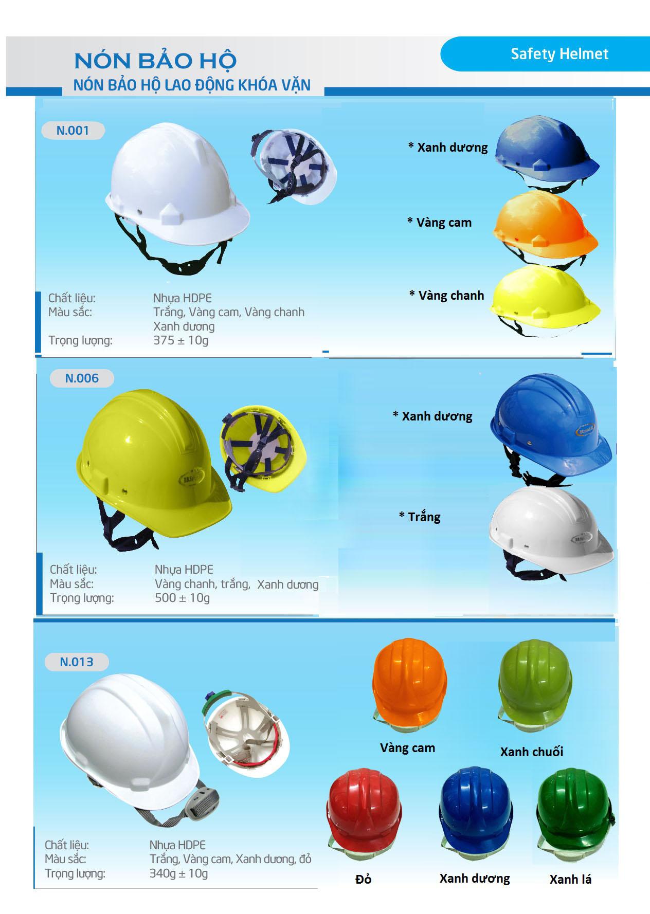 nón công nhân xây