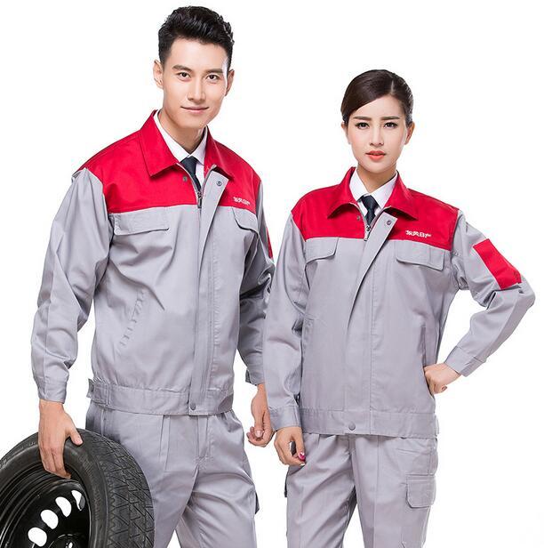 Quần áo công nhân may theo yêu cầu 06