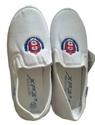 Giày vải công nhân XP màu trắng