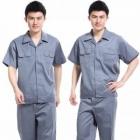 quần áo công nhân màu xám tay ngắn may theo yêu cầu 11