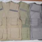 Áo ghile có sẵn màu xám