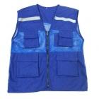 Áo ghile có sẵn màu xanh hinh1