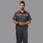Quần áo công nhân đính phản quang may theo yêu cầu.
