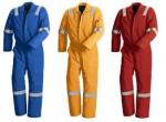 Quần áo công nhân liền quần may theo yêu cầu.
