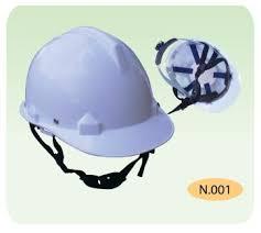 nón trắng cho công nhân xây dựng