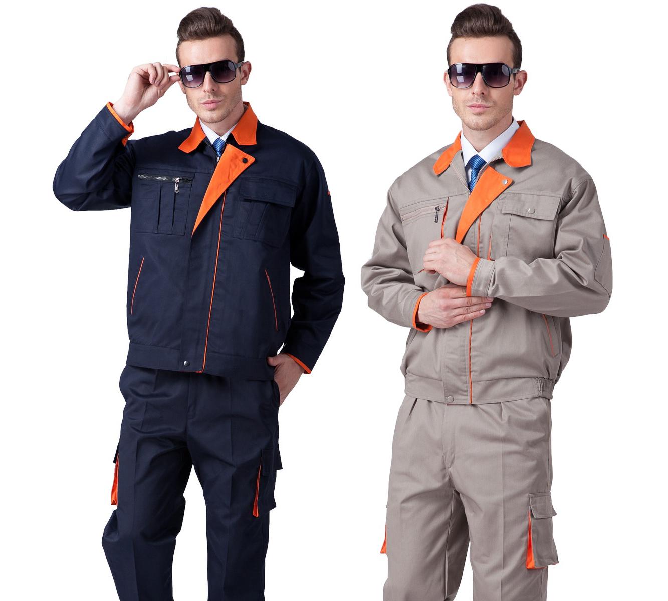 Quần áo công nhân may theo yêu cầu 10