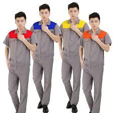 Đồng phục công nhân phối màu may theo yêu cầu